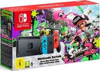 Игровая приставка Nintendo Switch «неоновый красный/неоновый синий» Обновленная версия + Splatoon 2