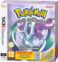 Pokémon Crystal Version (код загрузки)