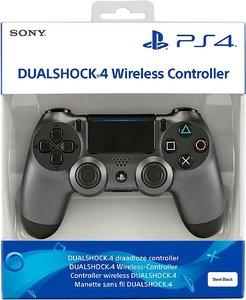 Беспроводной джойстик DualShock 4 Steel Black «Стальной металлик» версия 2