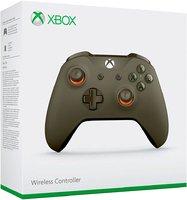 Беспроводной джойстик Xbox One Wireless Controller «Цвет Хаки» с 3,5-мм стерео-гнездом для гарнитуры и Bluetooth