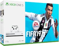 Игровая приставка Microsoft Xbox One S 1TB + FIFA19