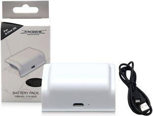 Аккумуляторная батарея DOBE «Battery Pack» 400mAh + зарядный кабель для Xbox One модель: TYX-561S Белый Цвет