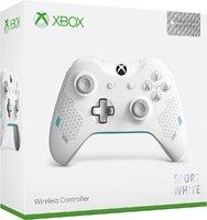 Беспроводной джойстик Xbox One Wireless Controller «Sport White» с 3,5-мм стерео-гнездом для гарнитуры и Bluetooth