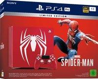 Игровая приставка Sony PlayStation 4 Pro 1Tb «Spider Man Limited Edition» + Marvel Spider Man