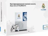 Кастомизированная игровая приставка Microsoft Xbox One S 1TB «Реал Мадрид»