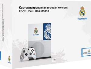 Игровая приставка Microsoft Xbox One S 1TB «Реал Мадрид»