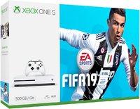 Игровая приставка Microsoft Xbox One S 500GB + FIFA 19