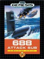 688 Attack Sub [Sega Mega Drive]