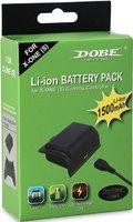 Аккумуляторная батарея DOBE «Battery Pack» 1500mAh + зарядный кабель для Xbox One модельTYX-563 Черный Цвет
