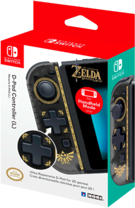 Контроллер HORI D-Pad Controller (L) «The Legend of Zelda: Breath of the Wild»