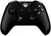 Беспроводной джойстик Xbox One Wireless Controller «Черный Цвет» с 3,5-мм стерео-гнездом для гарнитуры и Bluetooth [Новый, без упаковки]