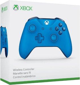 Беспроводной джойстик Xbox One Wireless Controller «Синий Цвет» с 3,5-мм стереогнездом для гарнитуры и Bluetooth