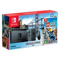 Игровая приставка Nintendo Switch Grey + Lego City Undercover