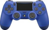 Беспроводной оригинальный джойстик DualShock 4 «Синий Цвет» Версия 1 (без упаковки)