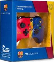 Беспроводной джойстик Xbox One Wireless Controller ФК «Барселона» с 3,5-мм стерео-гнездом для гарнитуры и Bluetooth