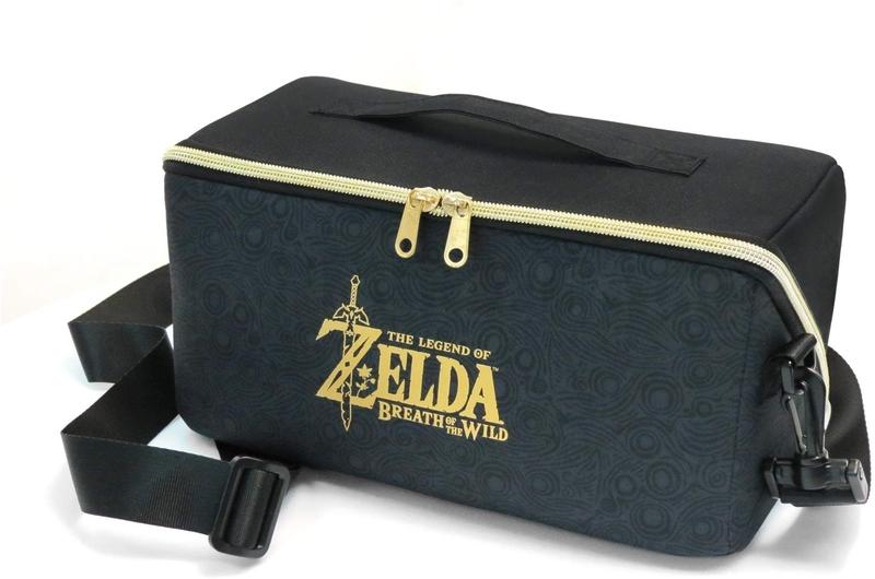 f7f9c67259a5 Сумка для консоли и аксессуаров HORI Carry All Bag «Legend of Zelda» для  Nintendo