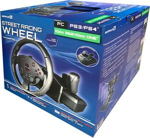 Руль игровой с педалями ARTPLAYS Street Racing Wheel Turbo C900