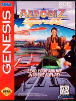 Aerobiz Supersonic [Sega Mega Drive]