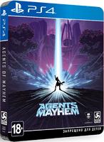 Agents of Mayhem. Steelbook Edition
