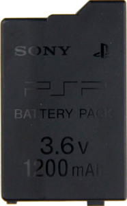 Аккумуляторная батарея для PSP Slim 2000/3000 Li-ion 1200mAh «Original»