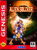 Alien Soldier [Sega Mega Drive]