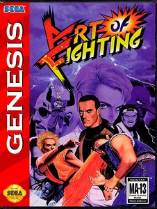 Art of Fighting [Sega Mega Drive]