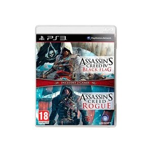 Комплект «Assassin's Creed IV: Черный Флаг» + «Assassin's Creed: Изгой» [PS3]