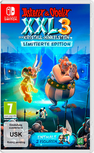 Asterix and Obelix XXL 3: The Crystal Menhir. Limited Edition