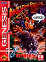 Awesome Possum Kicks Dr. Machino's Butt! [Sega Mega Drive]