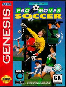 AWS Pro Moves Soccer [Sega Mega Drive]