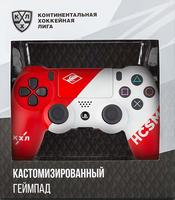 Беспроводной джойстик DualShock 4 КХЛ «Спартак» версия 2