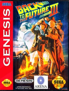 Back to the Future Part III [Sega Mega Drive]