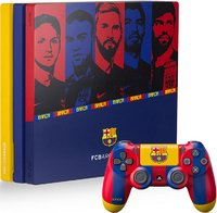 Игровая приставка Sony PlayStation 4 Pro 1TB «Барселона»