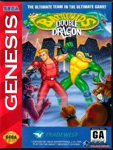 Battletoads & Double Dragon [Sega Mega Drive]