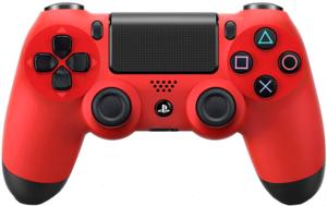 Беспроводной геймпад DualShock 4 «красный цвет» версия 2