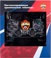 Джойстик DualShock 4 ФК ЦСКА «Черный-камуфляж»