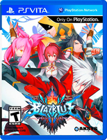 BlazeBlue: Chrono Phantasma [ps vita]