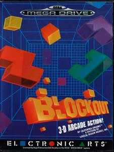 Block Out [Sega Mega Drive]