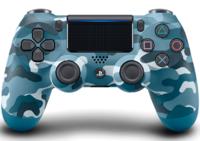 Беспроводной геймпад DualShock 4 «Синий камуфляж» версия 2