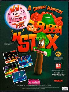 Bubba'n'Stix [Sega Mega Drive]
