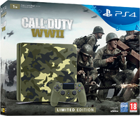 PlayStation 4 Slim 1Tb Call of Duty: WWII Limited Edition Ростест + Call of Duty: WWII