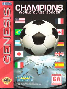 Champions World Class Soccer [Sega Mega Drive]