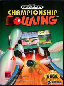 Championship Bowling [Sega Mega Drive]