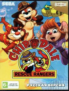 Chip & Dale [Sega Mega Drive]