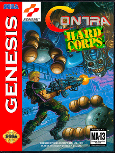 Contra Hard Corps [Sega Mega Drive]