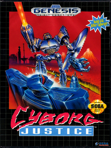 Cyborg Justice [Sega Mega Drive]