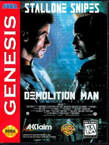 Demolition Man [Sega Mega Drive]