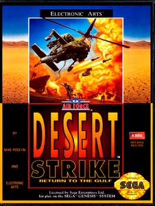 Desert Strike [Sega Mega Drive]
