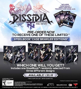 Dissidia Final Fantasy NT. Steelbook Edition [PS4]