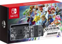 Игровая приставка Nintendo Switch Super Smash Bros. Ultimate Edition + Super Smash Bros. Ultimate